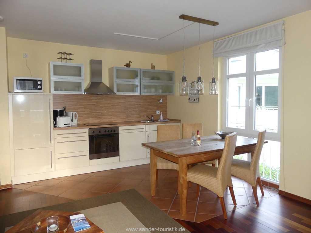 Gut ausgestattete Küchenzeile mit Spülmaschine - Binz - Prorer Wiek