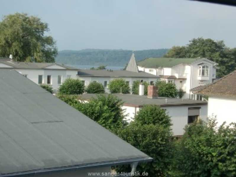 Aussich von der Wohnung - Haus Kranich in Binz