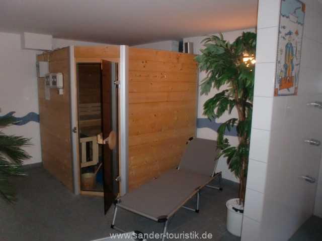 Sauna im Haus(Gebühr)