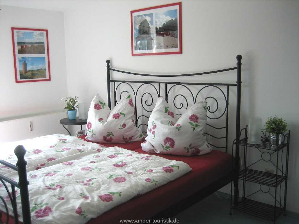 Doppelbett-Schlafzimmer - Binz - Haus Kranich