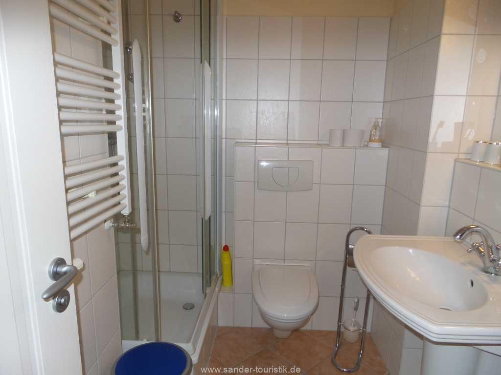 Bad mit Dusche/WC - Fewo Seestern - Binz