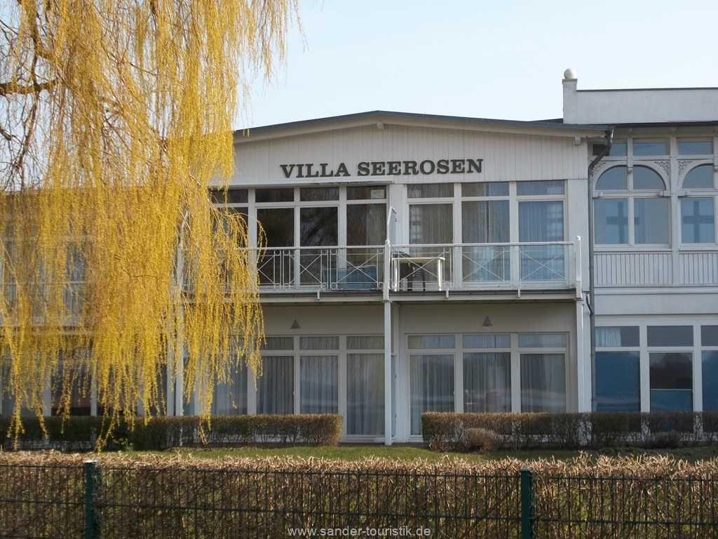 Blick vom Balkon - Villa Seerosen - Binz