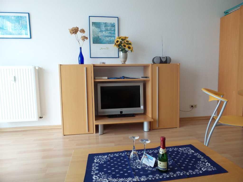 moderner Flachbildschirm - Binz- Villa Seerosen