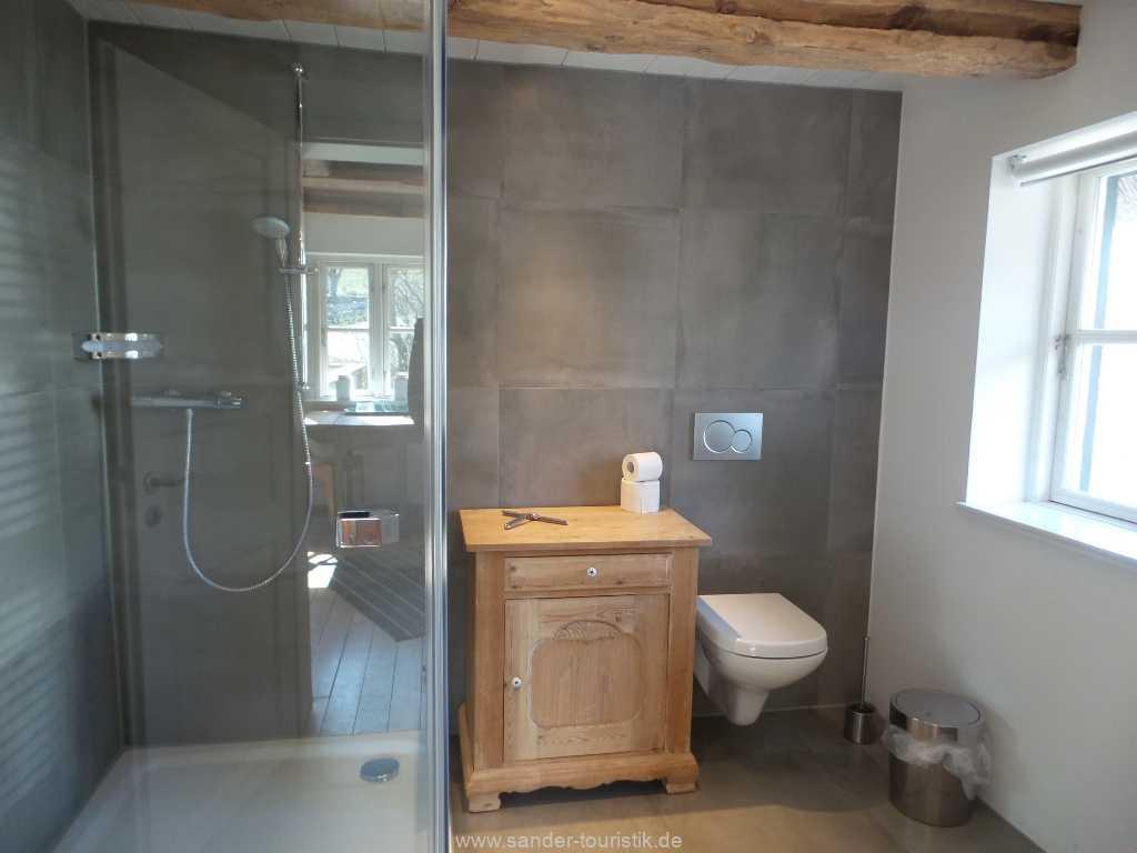 Bad mit Dusche/WC - Boddenblick - Mönchgut