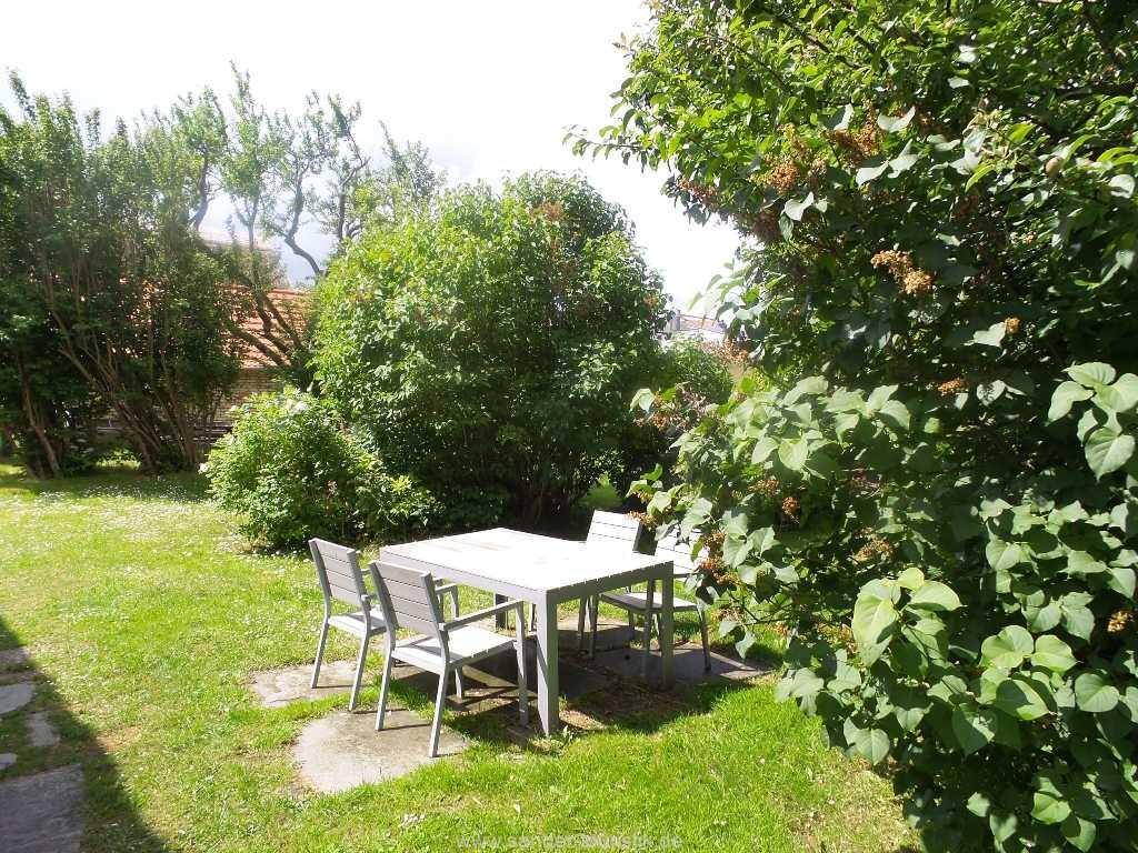 Sitzgruppe im Garten -  Boddenblick II - Mönchgut
