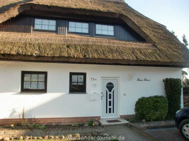 Hauseingang Ferienhaus Möwe