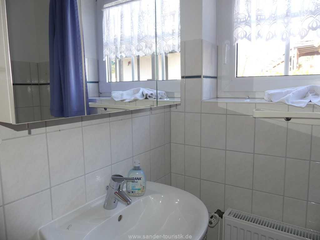 Duschbad, Ferienhaus Möwe