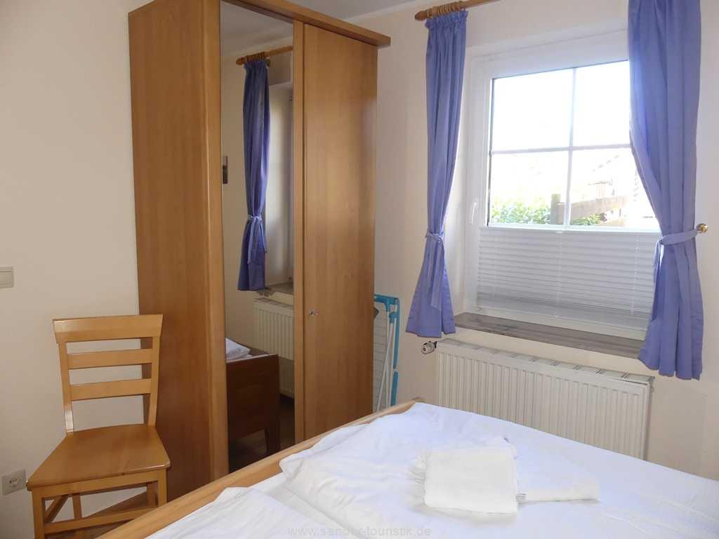 Schlafzimmer Ferienhaus Möwe