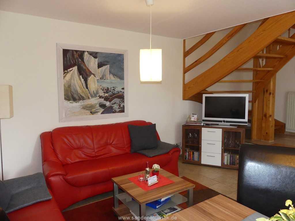 Fischerhaus mit Reeddach, Drei-Raum-Wohnung
