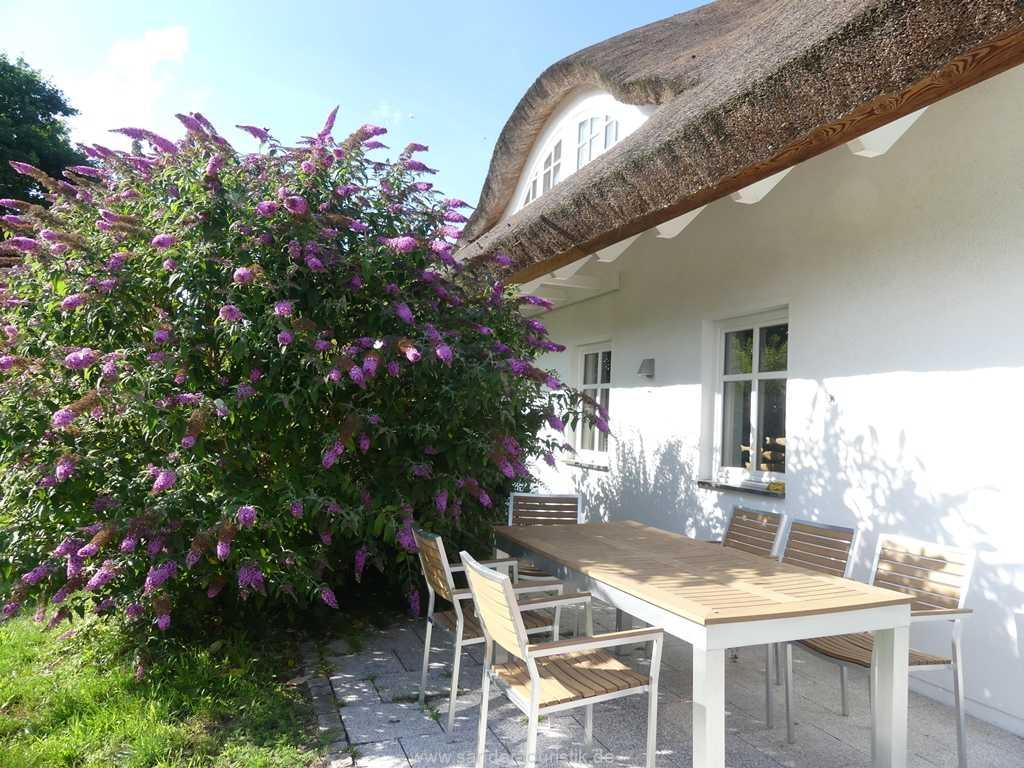 Terrasse Ferienhaus der Winde
