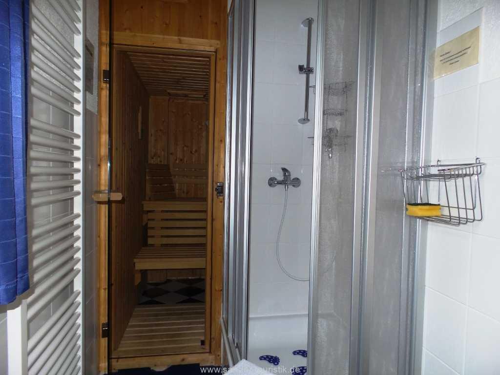 Sauna mit Gebühr