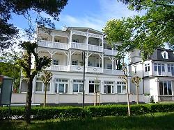 Villa Strandblick in  Binz mit typischer Bäderarchitektur