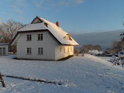 Stresow Winter auf Rügen